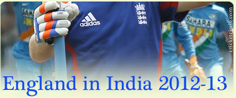 India vs England Cricket Series 2012-2013